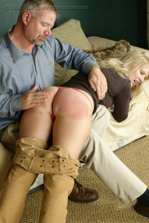 Real Spankings - Stacey Is Spanked For Overspending - image 10