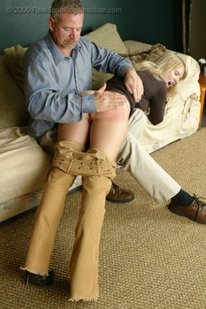Real Spankings - Stacey Is Spanked For Overspending - image 17