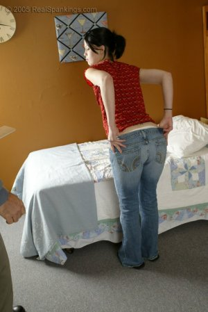 Real Spankings - Kailee Is Paddled For Misbehaving - image 6