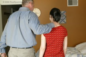 Real Spankings - Kailee Is Paddled For Misbehaving - image 10