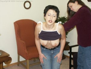 Real Spankings - Bare Breasted Teens I - image 7