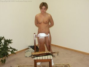 Real Spankings - Punishing Teen Jennifer - A Lesson Learned - image 1