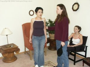 Real Spankings - Bare Breasted Teens I - image 4