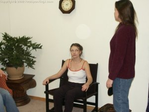 Real Spankings - Bare Breasted Teens I - image 3