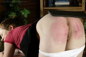 Real Spankings - Claire Is Paddled On All Fours - image 7