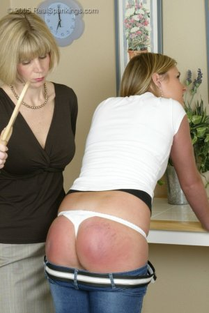 Real Spankings - Riley Is Paddled In The Kitchen - image 11