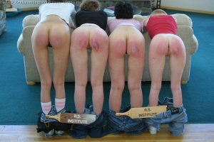 Real Spankings - Roadtrip Previews - Wooden Paddle - image 4