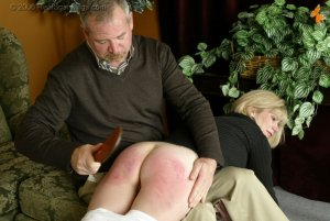 Real Spankings - Elizabeth Is Punished In The Living Room - Part 2 - image 13