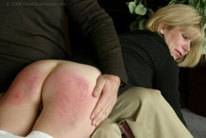 Real Spankings - Elizabeth Is Punished In The Living Room - Part 2 - image 9