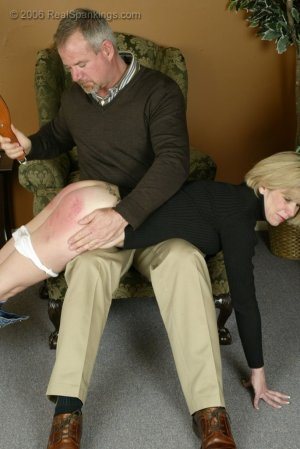 Real Spankings - Elizabeth Is Punished In The Living Room - Part 2 - image 17