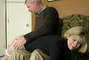 Real Spankings - Elizabeth Is Punished In The Living Room - Part 2 - image 10