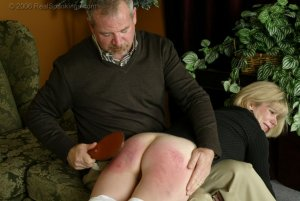 Real Spankings - Elizabeth Is Punished In The Living Room - Part 2 - image 5