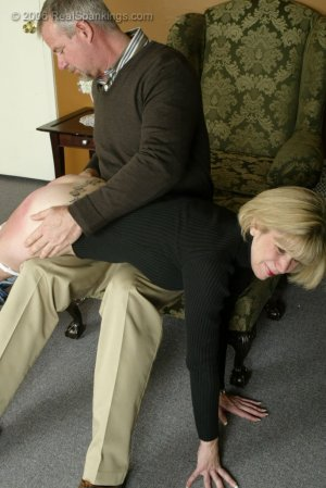Real Spankings - Elizabeth Is Punished In The Living Room - Part 2 - image 7