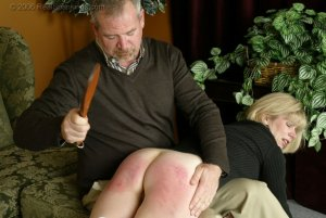 Real Spankings - Elizabeth Is Punished In The Living Room - Part 2 - image 12