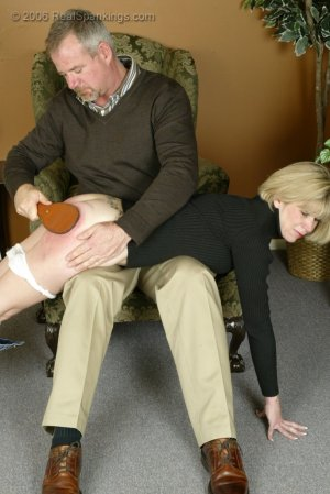 Real Spankings - Elizabeth Is Punished In The Living Room - Part 2 - image 14