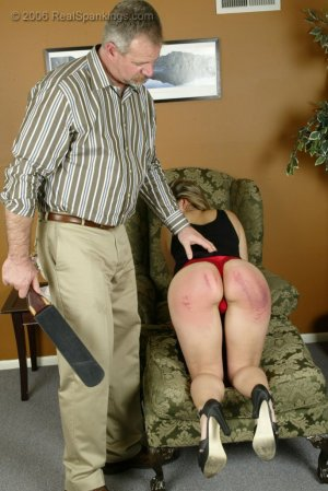 Real Spankings - Cindy's Domestic Spanking Pt.2 - image 3