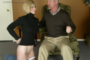 Real Spankings - Elizabeth Is Punished In The Living Room - Part 2 - image 11