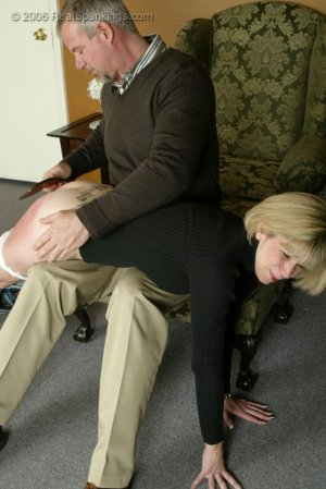Real Spankings - Elizabeth Is Punished In The Living Room - Part 2 - image 8