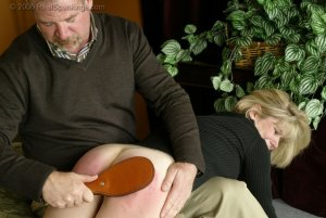 Real Spankings - Elizabeth Is Punished In The Living Room - Part 2 - image 18
