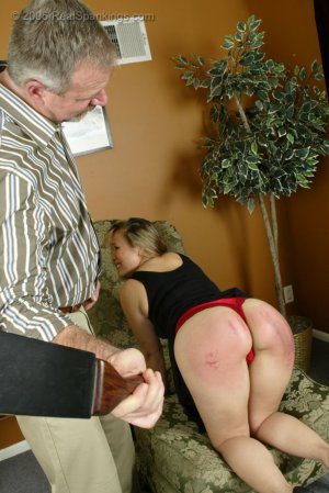 Real Spankings - Cindy's Domestic Spanking Pt.2 - image 9
