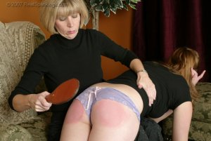Real Spankings - Monica Spanked For Being Late - image 2