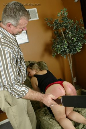 Real Spankings - Cindy's Domestic Spanking Pt.2 - image 6