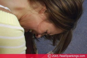 Real Spankings - Jackie Spanked For Coming Home Late Pt.1 - image 3