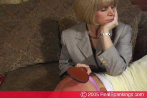 Real Spankings - Jackie Spanked For Coming Home Late Pt.1 - image 9
