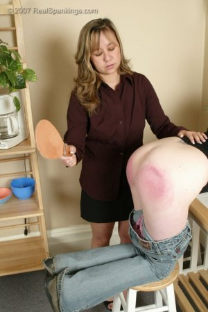 Real Spankings - Kelly Is Spanked For Doing Poorly At School - image 1