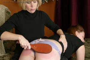 Real Spankings - Monica Spanked For Being Late - image 6