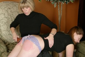 Real Spankings - Monica Spanked For Being Late - image 18