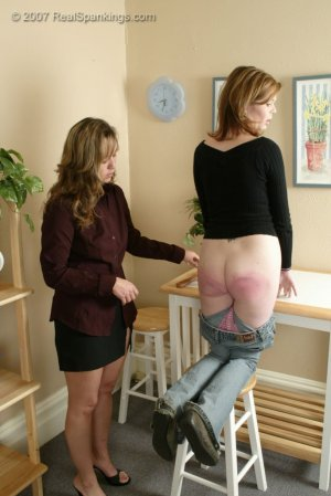 Real Spankings - Kelly Is Spanked For Doing Poorly At School - image 10