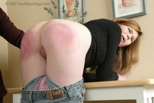 Real Spankings - Kelly Is Spanked For Doing Poorly At School - image 7