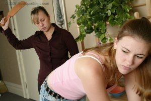 Real Spankings - Monica Is Strapped For Not Finishing Her Chores - image 11