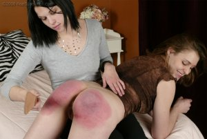 Real Spankings - Melody Asks For A Spanking - image 5