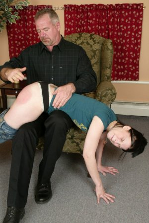 Real Spankings - Kailee's Bratty Attitude Earns Her A Spanking - image 4