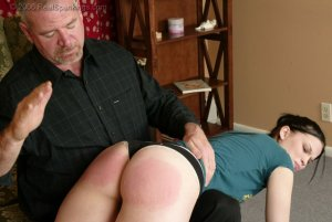 Real Spankings - Kailee's Bratty Attitude Earns Her A Spanking - image 17