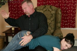 Real Spankings - Kailee's Bratty Attitude Earns Her A Spanking - image 7