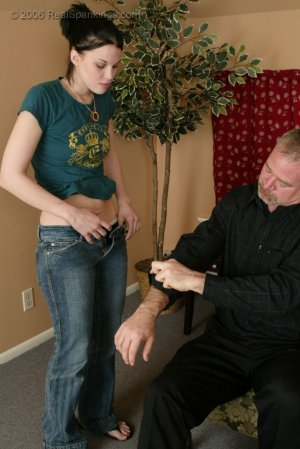 Real Spankings - Kailee's Bratty Attitude Earns Her A Spanking - image 11