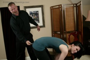 Real Spankings - Kailee Earns Herself A Hard Belting - image 5