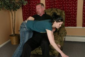 Real Spankings - Kailee's Bratty Attitude Earns Her A Spanking - image 12