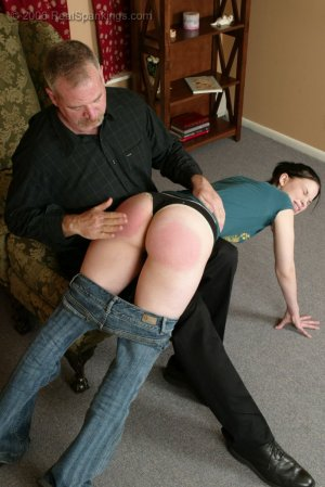 Real Spankings - Kailee's Bratty Attitude Earns Her A Spanking - image 8