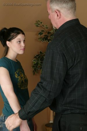 Real Spankings - Kailee's Bratty Attitude Earns Her A Spanking - image 10