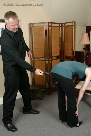 Real Spankings - Kailee Earns Herself A Hard Belting - image 8