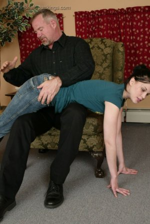 Real Spankings - Kailee's Bratty Attitude Earns Her A Spanking - image 9