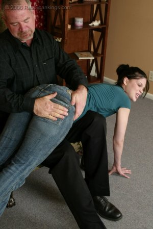 Real Spankings - Kailee's Bratty Attitude Earns Her A Spanking - image 15
