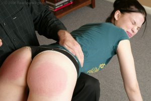 Real Spankings - Kailee's Bratty Attitude Earns Her A Spanking - image 13