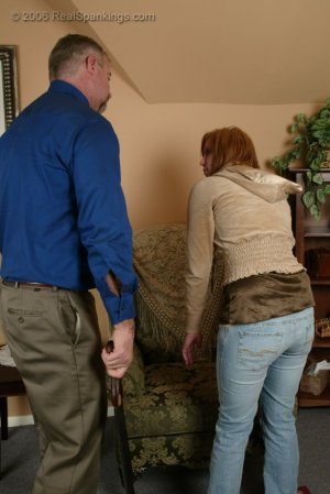 Real Spankings - Brooke Is Paddled For Skipping School - image 2