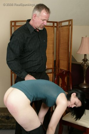 Real Spankings - Kailee Earns Herself A Hard Belting - image 9