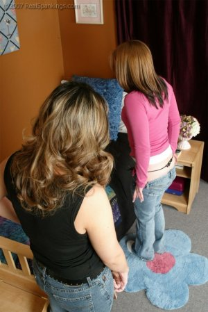 Real Spankings - Claire Earns A Spanking For Smoking In The House - image 5